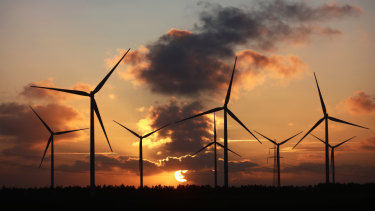 Labor has set a target of 50 per cent renewables in the electricity mix by 2030.