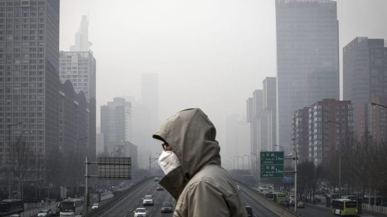 China is trying to improve its air pollution problems.