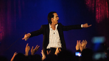 Nick Cave provided the soundtrack to the author's life, she not alone ...