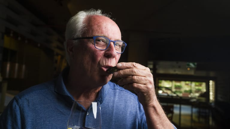 Step four: Eat and enjoy the natural oyster juices. Steve Feletti demonstrates how to open a Sydney rock oyster.