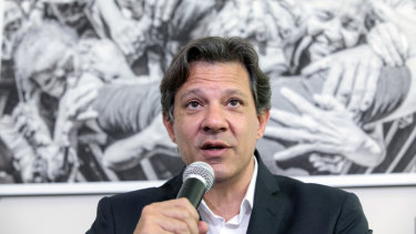 Financial markets are just as spooked that former Sao Paulo mayor Fernando Haddadcould become Brazil's president as they were when his mentorLula was elected 16 years ago.