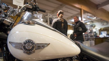 Donald Trump once hailed Harley-Davidson as a 'true American icon', but he urged a boycott of the company when it started to manufacture overseas.