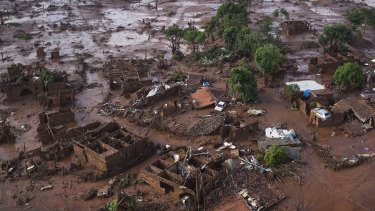 The collapse of the Fundao dam in 2015 killed 19 and poured roughly 40 million cubic metres of mining waste into communities.