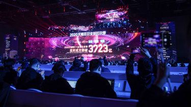 SIngles' Day will be closely watched as China's economy continues to recover from the pandemic.