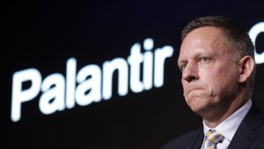 Peter Thiel's Palantir has had a successful trading debut.