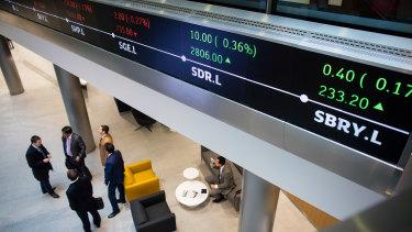 The FTSE in London slid on Thursday.