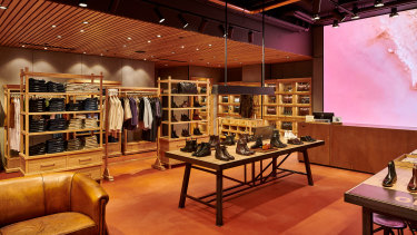 RM Williams' new flagship store in Chadstone.