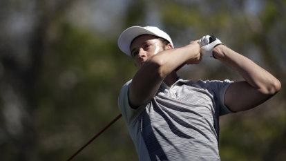 Trent shows he's Aussie golfer to watch