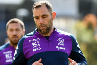 Melbourne Storm captain Cameron Smith will play on.