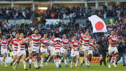Japanese rugby's untold story almost 150 years in the making
