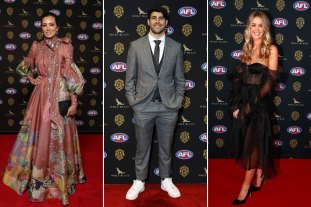 An elevated Brownlow red carpet takes an exciting turn