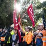 Builders hit out at 'outrageous' construction union pay push