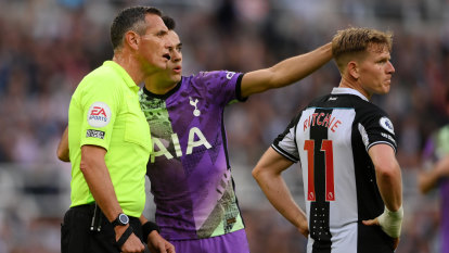 Quick-thinking Spurs players may have saved supporter's life