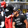Black Lives Matters politics creates split among Formula One drivers