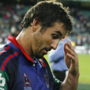 No regrets: Andrew Johns says he was 'looked after better than anyone at Newcastle' during his playing days.