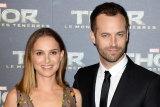 Natalie Portman with director husband Benjamin Millepied.