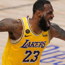 LeBron James scores 28 as LA Lakers close in on NBA title