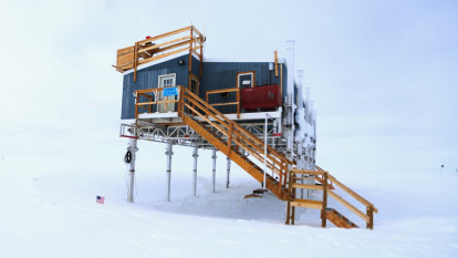 'Unprecedented': Rain falls at Greenland ice summit for first time
