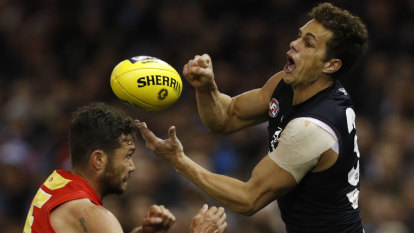 Ed Curnow says Blues players want to put Teague in best position