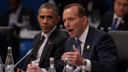 Tony Abbott's climate denial prompted Barack Obama's Brisbane barbs