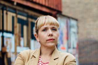 Kerry Godliman plays a lawyer and disgraced MP in Lucy Kirkwood's Adult Material.