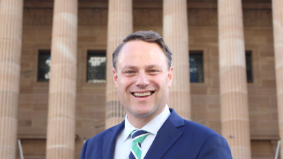 The Brisbane of tomorrow: Adrian Schrinner prepares to be lord mayor
