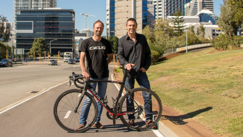 f568b142eb2 The wild ride of a Perth cycling tech startup