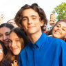 All hail The King: Timothee Chalamet comes to town
