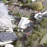 Fire guts restaurant at Yarra Valley winery