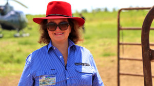 Gina Rinehart is the nation's cattle queen through Hancock Agriculture and her controlling stake in S.Kidman & Co.