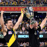 Channel Seven says night grand final a winner, Cotchin not so sure