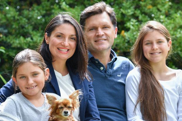 The Semenets family will become Australian citizens on Sunday.