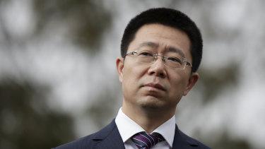Huawei Australia CEO Hudson Liu.