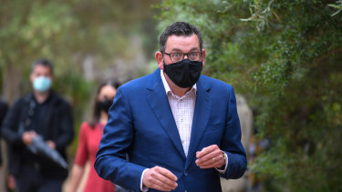 Daniel Andrews will on Sunday announce which restrictions will be loosened.