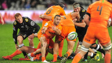 Inspiration: The Jaguares claimed two wins on Australian soil this year.