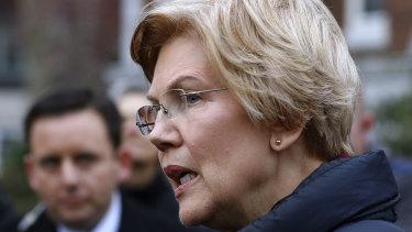 Senator Elizabeth Warren, a Democratic candidate for president.