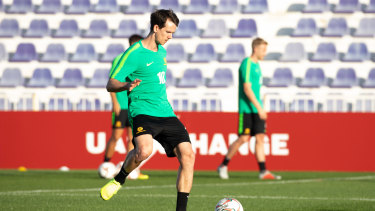 Arnold says he has a number of options to replace Rogic, including veteran Robbie Kruse.