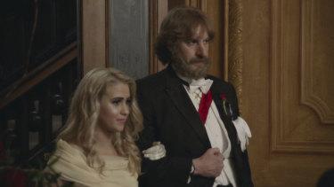 Maria Bakalova plays Borat's daughter Tutar in Borat Subsequent Moviefilm.