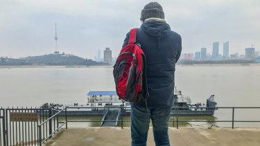 Australian citizen Moko Yong has been trapped in Wuhan for 10 days.