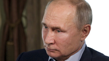 Vladimir Putin sees foreign interference afoot in Russia.