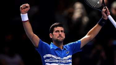 Novak Djokovic made an impressive start in his bid to reclaim the No.1 ranking.