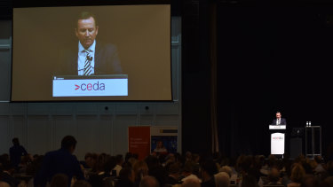 Mark McGowan told the State of the State crowd WA would do everything it could to preserve its trading relationships.