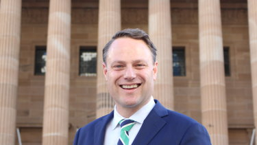 Brisbane's new lord mayor Adrian Schrinner.