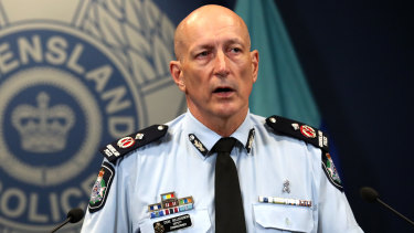 Queensland Deputy Police Commissioner Steve Gollschewski said the three men had been ordered to appear in court.