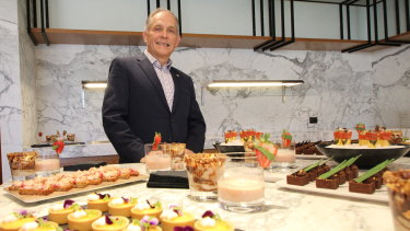 Hilton Perth cluster general manager David Constantine at Hilton's new Doubletree Northbridge hotel.