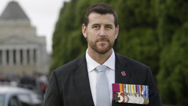 Ben Roberts-Smith, pictured in 2017.