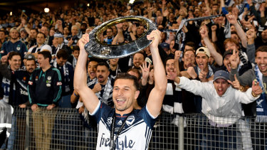 Kosta Barbarouses won two A-League championships at Melbourne Victory.