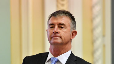 LNP leader Tim Mander said the gap between Queensland and the top performing states was widening.