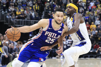 Fans are not flocking to Ben Simmons' cause in the NBA All-Star vote.