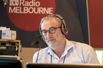 """Jon Faine: """"The fact is that there is no one else at The Age that has been interviewing Dan Andrews consistently for 15 years like I have."""""""